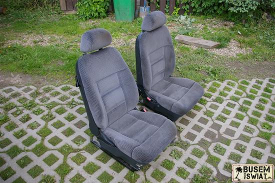Fotele do busa - kupine na szrocie, ze starego Forda - 30zł :)