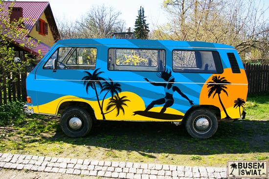 Malowanie busa - projekt
